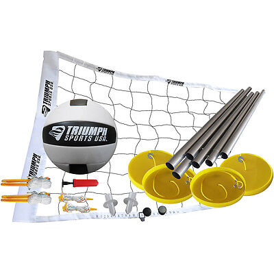 Triumph Net Games Beach Volleyball Set