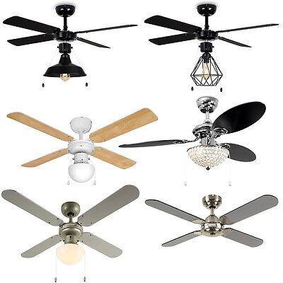 MiniSun 42 Inch Ceiling Cooling Home Fan with Lights Remote Control Lounge Lamp