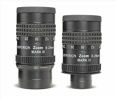 """Baader Hyperion  Zoom 1¼"""" and 2"""" eyepiece, 8-24mm"""