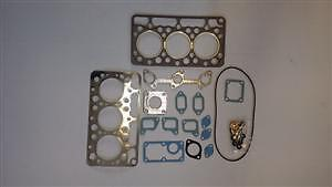 KUBOTA 3cyl COMPACT TRACTOR B5200 & B7100 (D750 ENGINE) HEAD GASKET SET