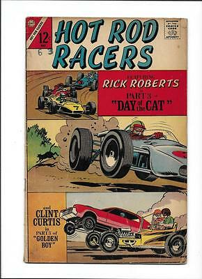 """HOT ROD RACERS #14  [1967 VG-]  """"DAY OF THE CAT"""" pt.3"""