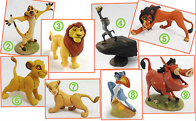 Lion King - Choco Party Mini Figure Pumbaa Timon by Tomy from Japan Capsule Toy