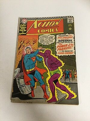 Action Comics 340 Vg/Fn Very Good/Fine 5.0 First Parasite Silver Age