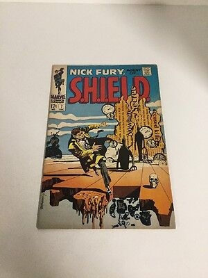 Nick Fury, Agent Of Shield Vg/Fn Very Good/Fine 5.0 Steranko Cover
