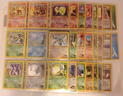 Complete Gym Challenge Set Pokemon 132/132 In Excellent/lp Cond W/ Some 1St Ed