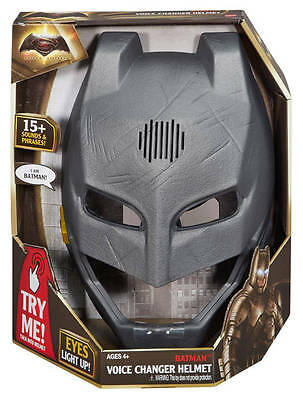 Mattel - Batman vs Superman - Batman Voice Changer Helmet Was £29.99 NOW£19.99!