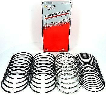 """Hastings Piston Ring Set 2M139060; Moly-Faced 4.060/"""" Bore Drop-In Replacement"""