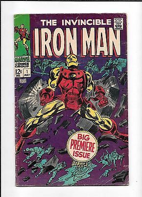 Iron Man #1 ==> Vg 1St Issue Of His Own Series Marvel Comics 1968