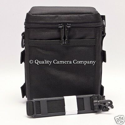 f.64 f64 FH 4x5 Cut Film Holder Case (Up to 6) (Black) w/ Shoulder Strap NEW