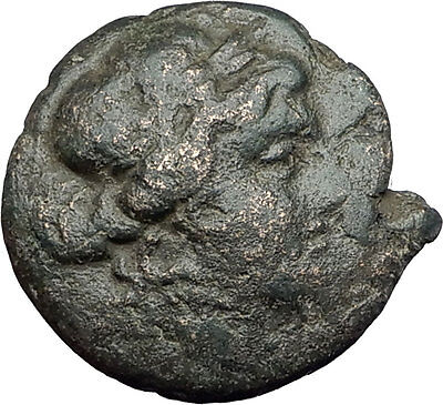 LARISSA Thessaly Ancient Greek Coin for THESSALIAN LEAGUE - APOLLO ATHENA i62101