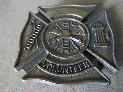 Volunteer Firefighter Vintage Belt Buckle ! L@@K