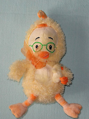 Disney Chicken Little in Chick Costume Holding Baby Duck Plush Easter Decor Toy