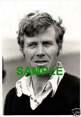 Scarce Original Press Photograph - Hugh Baiocchi South African Golfer 1973