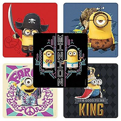 25 DESPICABLE ME MINIONS Stickers Kids Party Supplies Party Favors