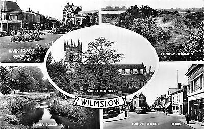 POSTCARD   CHESHIRE   WILMSLOW   Views