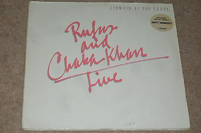 Rufus And Chaka Khan ‎– Live - Stompin' At The Savoy  2xLP   1983