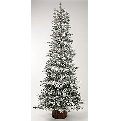 Homebase Snowy Larch Artificial Christmas Tree 7.5ft - 369823 (H4)