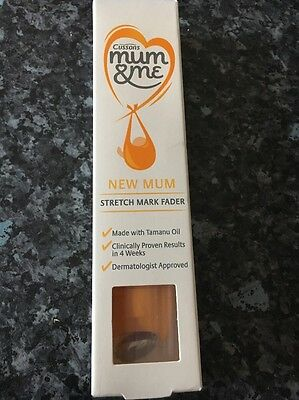 Cusson's Mum and Me New Mum Stretch Mark Fader 70ml New Boxed