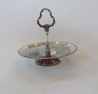 Antique Silver plated Highly Decorative Afternoon Tea Cake Stand