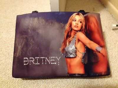 Britney Spears rare bag -  oops baby decoration promo book show vegas