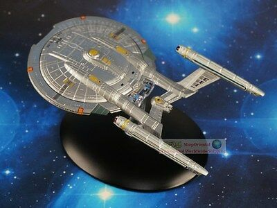 Eaglemoss STAR TREK USS Enterprise NX-01 Diecast Metal Model Starship A614
