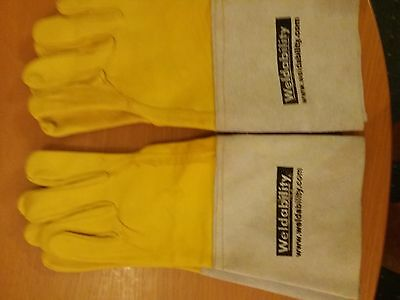 TIG Weldability welding gloves two pairs