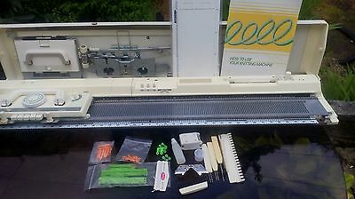 brother kh864 punchcard knitting machine complete and serviced