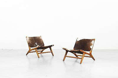 2 Beautiful Danish Lounge Chairs, Hans Wegner danishdesign mid-century