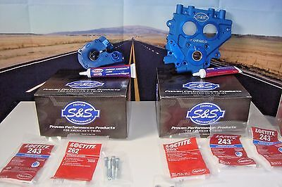 Billet Oil Pump Cam Plate Kit S&S Cycle 310-0731 Fits Harley Twin Cam 99-2006 01