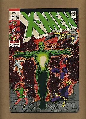 X-Men 55 (Nice!) Barry Smith cover; Alex Summers discovers powers (c#14254)