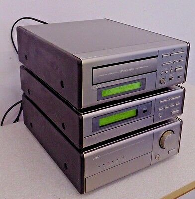 Denon D-100 Hi-Fi Stack Stereo System UPA UTU  UCR Phono Stage Amplifier Tuner