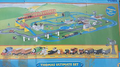 Tomy Trackmaster Thomas train set. Road & rail ULTIMATE SET. COMPLETE & BOXED