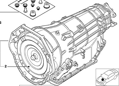 BMW ZF 5HP30 Auto Transmission 24001422506 E34 540i M60 March 93 - Aug 93 ZML 10