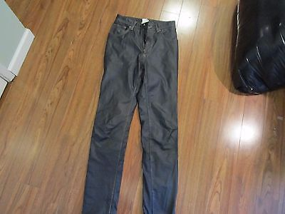 parasuco leather pants excellent shape  size 29   FREE SHIPPING