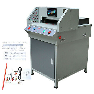 """490mm(19.3"""") Programable Electric Paper Cutter Cutting Machine Upgraded"""
