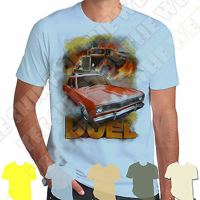 Duel Speilsberg Plymouth Vailant Peterbilt T-shirt 100% Cotton 7 cols to choose