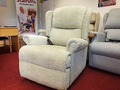 Large Sherborne Dual Motor Electric Rise and Recline Chair Tilt Recliner