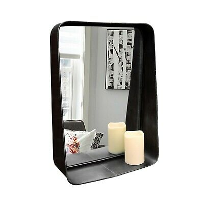 French Country Indoor Outdoor Garden Mirror Distressed Shabby White Brown 3Types