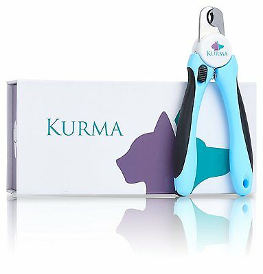 Kurma Pet Supplies Dog And Cat Pet Nail Clippers and Trimmer with Safety Guard