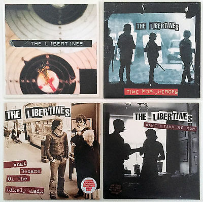 """LIBERTINES + BABYSHAMBLES Vinyl Lot 6x 7"""" Vinyl  What a Waster  Time for Heroes"""