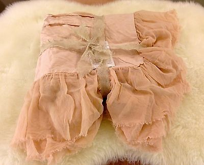 """NWT BELLA NOTTE VALENTINA DELUXE 27 x 36"""" SHAM in HEIRLOOM ROSE / LIGHT PINK NEW"""