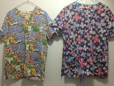 Lot Of Women's Scrubs Size XL