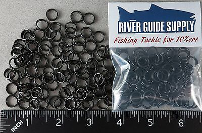 SIZE #6 Split Rings 100 Count Pack Stainless Steel USA MADE Fishing Tackle