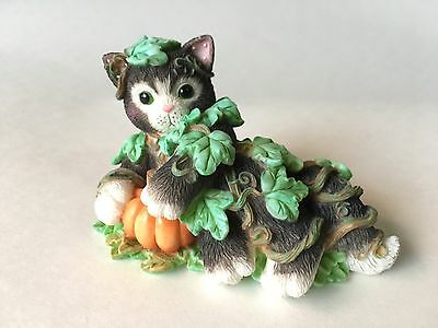 Enesco Calico Kittens Don't Be A Scaredy-Cat 1999 #543527 Cat Figure Hillman