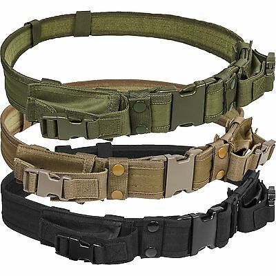 NcSTAR Tactical High Quality M9 1911 Pistol Mag QD Duty Belt for Police SWAT