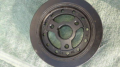 Ford FE 352 360 390 406 410 427 428 C4AE 6316-A balancer w/ single groove Pulley