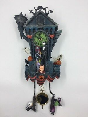 Tim Burton's The Nightmare Before Christmas Wall Cuckoo Clock With J (S07034327)