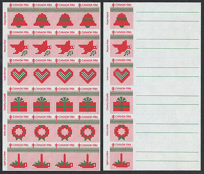 Canada Christmas Seals Color Progressive / Imperforate 1986