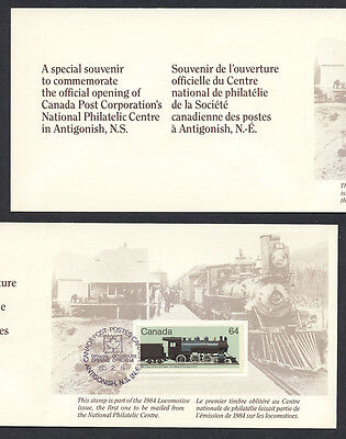 Canada Post Philatelic Centre Opening 1984