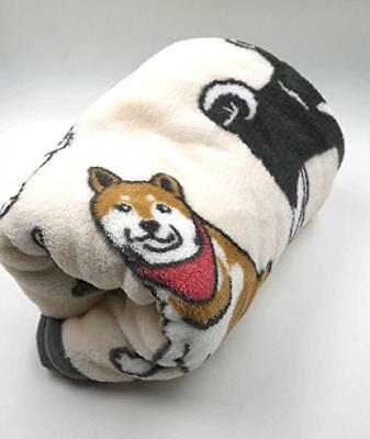 Cute Shiba Inu full soft blanket rug dog goods miscellaneous goods micro fleece